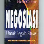 Buku NEGOSIASI Untuk Segala Situasi