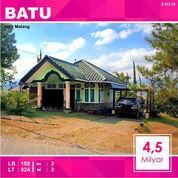 Rumah Villa Luas 824 Di Panderman Hill Kota Batu Malang _ 415.19 (21046059) di Kota Malang