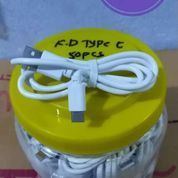 Grosir Termurah Kabel Data Type-C Panjang 1meter 1 Toples Isi 50