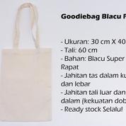 Tas Tote Bag Blacu Polos (Totebag / Goodie Bag) Belanja Wanita (21055487) di Kota Denpasar