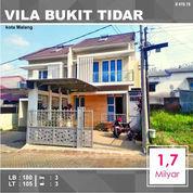 Rumah Luas 105 Area Vila Bukit Tidar Dinoyo Malang _ 419.19 (21059591) di Kota Malang