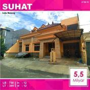 Rumah 2 Lantai Luas 389 Di Candi Mendut Suhat Kota Malang _ 190.19 (21059983) di Kota Malang
