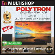 LED TV Polytron Cinemax Soundbar B150