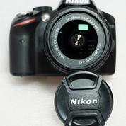 Nikon D3200 Kit 18-55mm VR G II Sc 21xxx Muluss