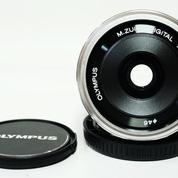 Olympus M.Zuiko Digital 17mm F.1.8 MSC Silver Good Condition