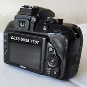 Kamera Nikon D3300 18-55 VR II Kit + Lensa Yongnuo