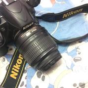 Camera Dslr Second Nikon Type D3100