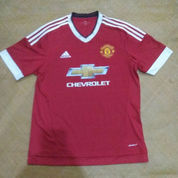 MANCHESTER UNITED 2015/2016 FOOTBALL SHIRT JERSEY HOME ADIDAS ORIGINAL (21104771) di Kota Batam