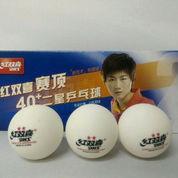Bola Pingpong Tenis Meja DHS 40plus 2 Stars Isi 10