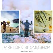 PAKET WISATA IJEN & BROMO 3 HARI 2 MALAM (21114467) di Kab. Sidoarjo