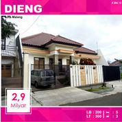 Rumah Bagus Luas 300 Di Bukit Dieng Kota Malang _ 294.18 (21116447) di Kota Malang
