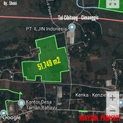 TANAH PERGUDANGAN 51.749 M2 - SETU BEKASI (21124159) di Kab. Bekasi