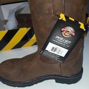 Sepatu Boot : Justin Original Men's Worker Two Steel Toe (Size 40)