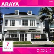 Rumah Mewah Baru Luas 375 Di Golf Araya Kota Malang _ 428.19 (21140531) di Kota Malang