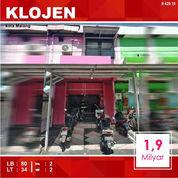 Rumah Toko Dekat Stasiun Daerah Klojen Kota Malang _ 429.19 (21143323) di Kota Malang