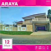 Rumah Mewah Baru Luas 864 Di Golf Araya Kota Malang _ 432.19 (21144859) di Kota Malang