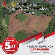 Tanah Kavling Murah Karangploso Batu Malang View Pegunungan Arjuna (21150279) di Kab. Malang