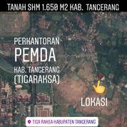 Tanah Tigaraksa 1.400m2 Dekat Pemda Kab Tangerang Banten (21151215) di Kab. Tangerang