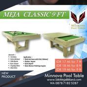 Meja Billiard Minnova Clasic 3 Fungsi Meja Makan-Billiard-PingPong Tenis Meja (21156519) di Kota Tangerang Selatan