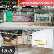 Gudang Duri Kosambi Raya, Jakarta Barat, 11x75,46m, 1 Lt, SHM (21160199) di Kota Jakarta Barat