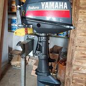 Mesin Speed Boat Yamaha 8pk 2tak Kondisi 85% (21168879) di Kab. Purwakarta
