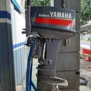 Mesin Tempel Speed Boat Yamaha 40pk 2tak Kondisi 90% (21168971) di Kab. Purwakarta