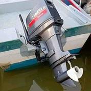 Mesin Tempel Speed Boat Yamaha 75pk 2tak Kondisi 85% (21169087) di Kab. Purwakarta