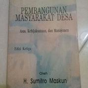 Buku Bekas Pembangunan Masyarakat Desa (21178043) di Kab. Sukoharjo