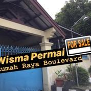Wisma Permai Barat Rumah 1,5 Lantai Cocok Untuk Usaha Atau Perkantoran