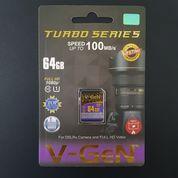 SDHC V-GeN 64GB Class 10 Turbo 100MB/S (SDCard VGEN) Memory Kamera (21196043) di Kota Surakarta