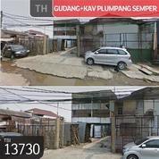 Gudang+Kavling Plumpang Semper, Jakarta Utara, 25x110m, 1 Lt, HGB (21197803) di Kota Jakarta Utara
