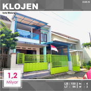 Rumah Murah 2 Lantai Luas 96 Daerah Celaket Klojen Kota Malang _ 435.19 (21199615) di Kota Malang