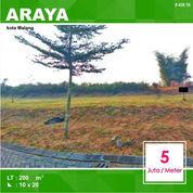 Tanah Kavling Murah Luas 200 Di Lotus Valley Araya Kota Malang _ 438.19 (21202039) di Kota Malang