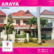 Rumah Mewah Luas 360 Di Boulevard PBI Araya Kota Malang _ 440.19