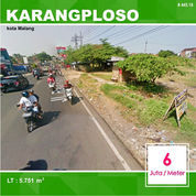 Tanah Luas 5.751 Di Poros Jalan Raya Ngijo Karangploso Kota Malang _ 445.19