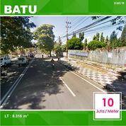 Tanah Poros Jalan Luas 8.316 Dekat Kantor Wali Kota Batu Malang _ 443.19 (21203419) di Kota Malang