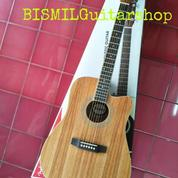 Gitar Taylor Jumbo Akustik Cutway Natural Doff Kwalitas Pabrikan Not Gibson Ibanez Jackson (21217711) di Kota Bogor