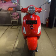 Vespa Lx LED 125 I Get (RED PASSIONE)