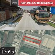 Kavling Kapuk Kencana, Jakarta Utara, 21x89m, 1 Lt, SHM (21254111) di Kota Jakarta Utara