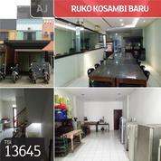 Ruko Kosambi Baru, Jakarata Barat, 4,5x32m, 3 Lt, HGB (21271107) di Kota Jakarta Barat