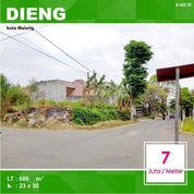 Tanah Hook Luas 689 Di Bukit Dieng Kota Malang _ 448.19 (21291307) di Kota Malang