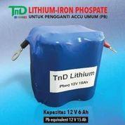 ACCU AKI MOTOR Lithium Iron Phospate (21326543) di Kota Surabaya
