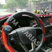 Premium Sarung Cover Stir Mobil Carbon Merah Power Handle Dengan Parfum Universal (21333743) di Kota Jakarta Pusat