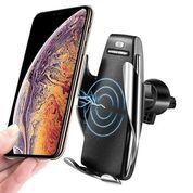 Holder Automatic Car Wireless Charger Smart Sensor Phone Fast Charging