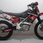 Kawasaki KLX Merah Tahun 2013 Terawat