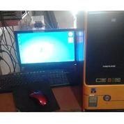 Cpu Komputer 1 Set Dan Print