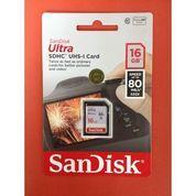 Memory Card SDHC Card Sandisk Ultra 16 Gb 80 MB/S Digital Camera Dslr (21375935) di Kota Surakarta