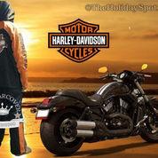 Jas Hujan Spesial Touring Harley Davidson