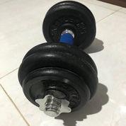 Berwyn Dumbell Box Set 20kg , Kettler Rubber Plat 20kg , Kettler Iron Plat 15kg