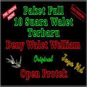 Paket Suara Walet Terbaru Deny Walet Welliam 10 Fd Original Open Protek (21392647) di Kab. Sidenreng Rappang